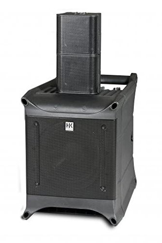 HK Audio LUCASNANO300 Ultra-Compact Stereo PA System with 3-Channel Mixer by Hk Audio