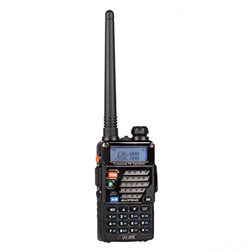 Baofeng Dual Band UV-5RE Amateur Handheld Two Way Radio UHF//VHF 136-174//400-480Mhz Transceiver with Free Earpiece UV5RE