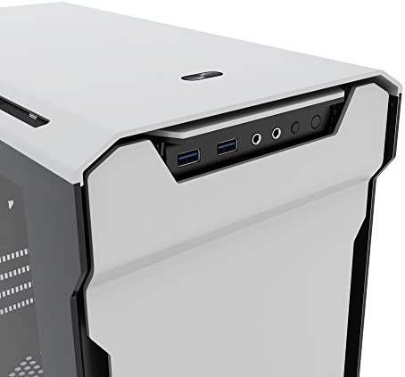 Phanteks Enthoo Evolv mATX Micro-Tower Plata - Caja de Ordenador (Micro-Tower, PC, Aluminio, Acero, Vidrio Templado, Plata, Micro ATX,Mini-ITX, Juego): Amazon.es: Informática