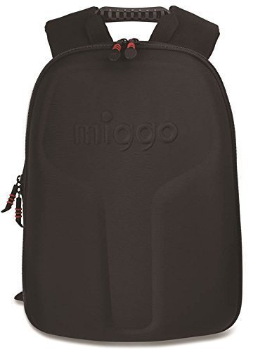 MIGGO STYLE WYNWOOD Sport Backpack, Polyester, Balck-Red, Fits up to 13-inch Laptop by MIGGO Style