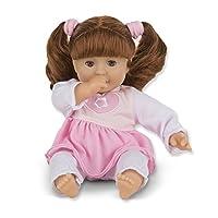 Melissa y Doug Mine to Love Brianna, muñeca de cuerpo blando de 12 pulgadas, atuendo de dos piezas, brazos y piernas limpios y limpios, 12.5 ″ H × 7.5 ″ W × 4.75 ″ L