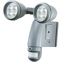 SmartGuard AEC-931A2BSD-SP4 Dual-Head LED PIR Sensor Light with Camera