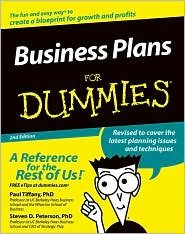 Business Plans For Dummies 2nd (second) edition Text Only PDF