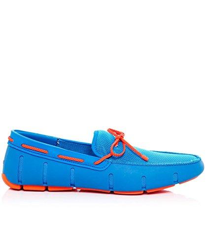 Swims Hombres Mocasines de cordón trenzado Azul Azul