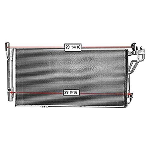 Replacement A/C Condenser Fits Kia Amanti: 3.8L