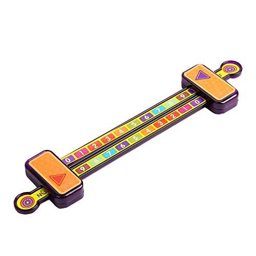 Molyveva Digital Decomposition Ruler Pump Pulling Ruler Science Educational Toys -