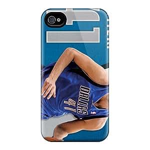 Durable Dallas Mavericks Back Case/cover For Iphone 4/4s