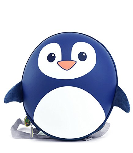 Bb Bag (BB Bag: Cute Animal Backpack for Kids with Removable Harness - Navy Penguin)
