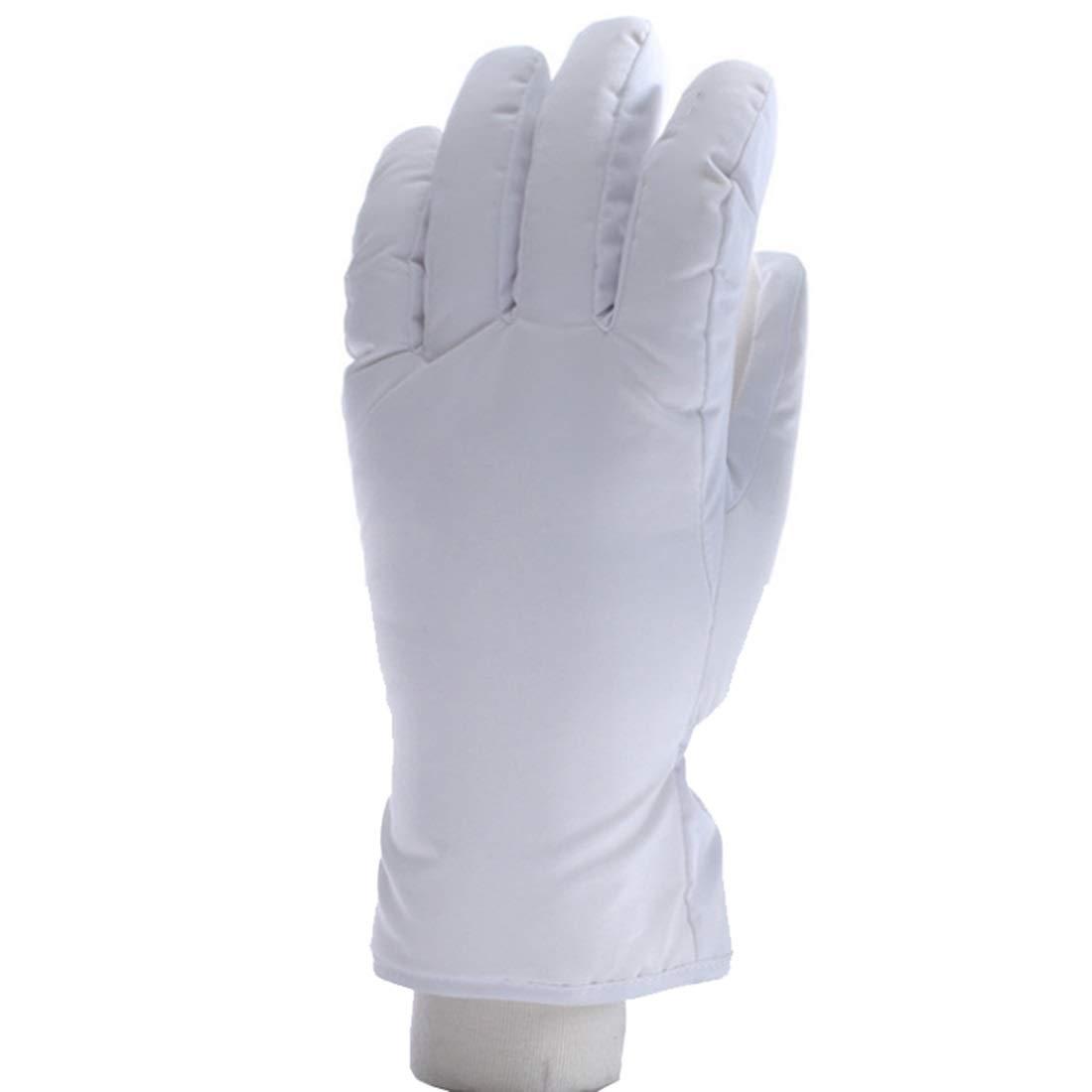 KERVINZHANG Guanti da Sci Invernali Antivento Impermeabili Guanti Invernali Invernali più Velluto (Color : Black, Size : XL)