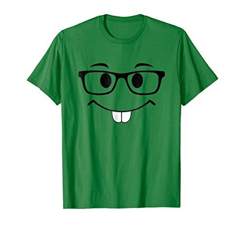 Nerd Emoji Glasses Funny Group Halloween Costume DIY Kids ()