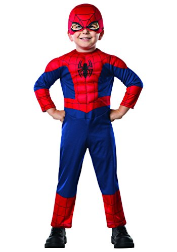 Spiderman Costumes For Girl (Rubie's Costume Co Dlx Ultimate Spider-Man Costume)