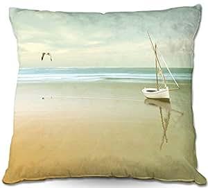 Al aire libre Patio sofá manta almohadas de DiaNoche Designs barbacoa al aire libre ideas por Carlos Casamayor suave amanecer en la playa I