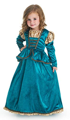 Little Adventures Scottish Princess Dress Up Costume (Small Age 1-3) -