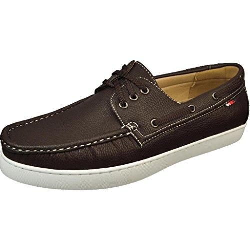 Phat Farm Men's Mariner II Brown Boat Shoes