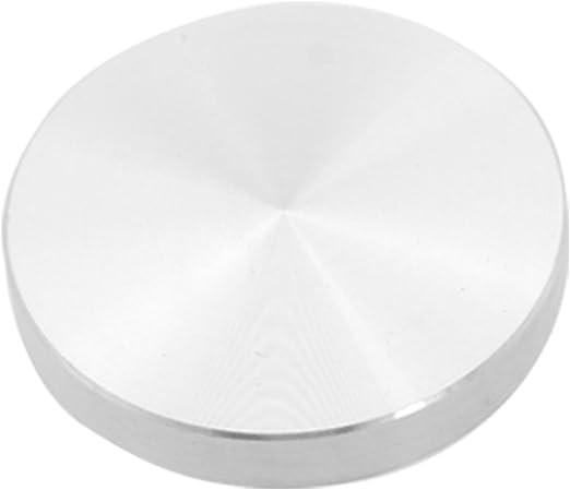 Amazon Com Uxcell Round Shape Aluminum Circle Disc Glass Table