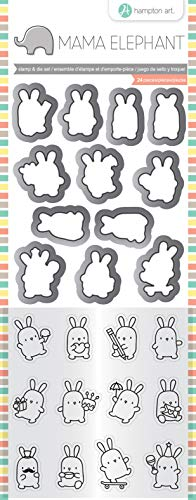 (Mama Elephant Clear Stamp & Die Set 4.125