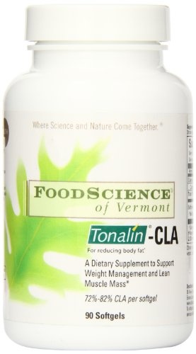 Food Science of Vermont Tonalin-CLA Soft gels, 90 Count