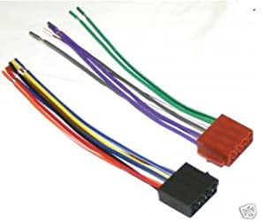 413oS9sNiLL._SX300_ amazon com xtenzi wire harness for planet audio car sterio 16 pin Car Stereo Fuse at gsmx.co