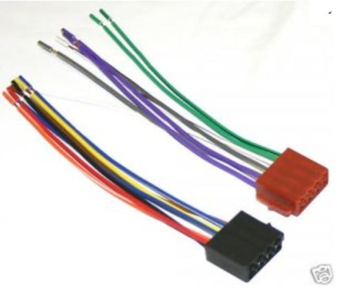 413oS9sNiLL amazon com blaupunkt car sterio wire harness power plug 16 pin  at fashall.co