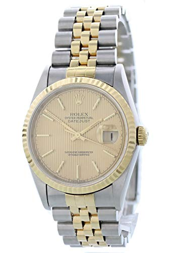 - Rolex Datejust Automatic-self-Wind Male Watch 16233 (Certified Pre-Owned)