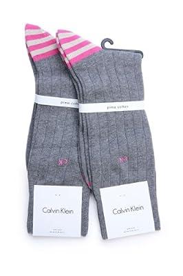 Calvin Klein Socks 2 PACK, Color: Grey