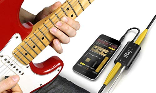 IK Multimedia iRig 2 guitar interface for iPhone and Android 4