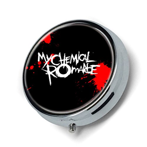Price comparison product image The Breakup of My Chemical Romance Custom New Fashion pill box Holder Stainless Steel Case Pocket or Purse - From Yesir Man GIFT