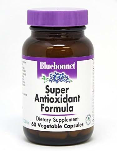 BlueBonnet Super Antioxidant Formula Vegetarian Capsules, 60 Count