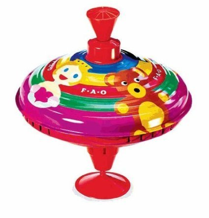 FAO Schwarz Metal Spinning Top Toy by Baby&Child (Image #1)