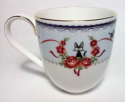 Noritake Kiki's Delivery Service Jiji Mug cup Blue Studio Ghibli MJ58186/H-613L ()