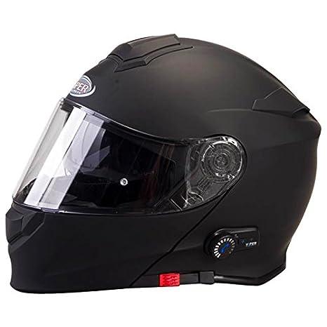 Viper RS-V171 Flip up Front Helmet BLUETOOTH Motorbike Helmet White L 59-60cm Free OF211 Oxford Motorbike Helmet Bag