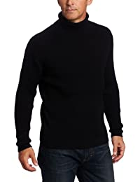Men's Ribbed Turtleneck Sweater