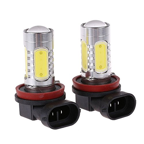 LED Fog Light Bulb Replacements - Extremely Amber Yellow LED Lights Bulbs for Fog Light Lamps Replacement [H3] ()