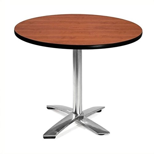 OFM KFT36RD-CHY Round Folding Multi-Purpose Table, 36