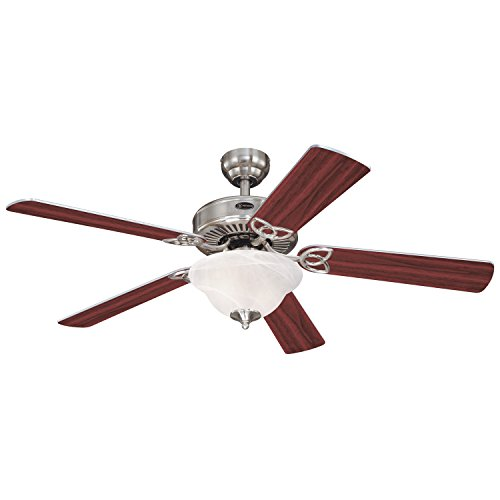westinghouse-78391-vintage-ii-one-light-52-inch-five-blade-ceiling-fan-brushed-nickel-with-frosted-w