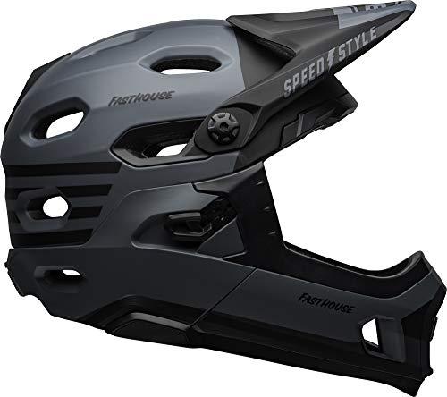 Bell Super DH MIPS Adult MTB Bike Helmet (Fasthouse Matte Grey/Black (2019), Medium)