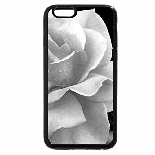 iPhone 6S Plus Case, iPhone 6 Plus Case (Black & White) - beautifil rose FOR YOU ANNIE I DONT THINK THIS IS COPYWRITED