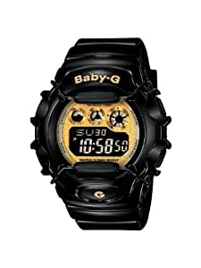 Casio Women's BG1006SA-1C Baby-G Shock Resistant Black and Yellow Multi-Function Watch
