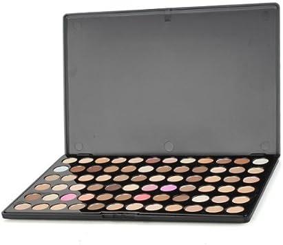 Sombra de Ojos Paleta Estuche 72 Colores Ahumados Maquillaje Mate: Amazon.es: Salud y cuidado personal