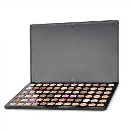 Sombra de Ojos Paleta Estuche 72 Colores Ahumados Maquillaje ...