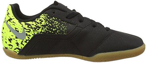 Nike Jr Bombax Ic, Botas de Fútbol para Niños Negro (Black / Cool Grey-Volt)