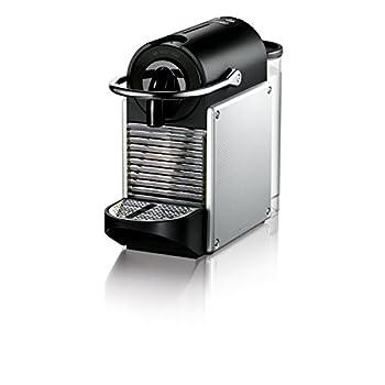 Image of Nespresso by De'Longhi EN125S Original Espresso Machine by De'Longhi, Nespresso Pixie, Aluminum Home and Kitchen