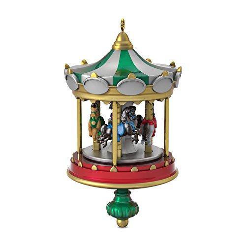 Hallmark Keepsake Mini Christmas Ornament 2018 Year Dated, Christmas Carousel Horse Miniature, 2.2