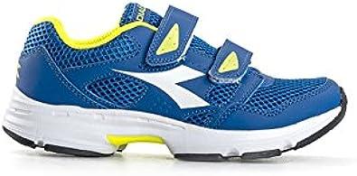 Diadora - Zapatillas de Running para niña Azul Azul/Verde * Azul Size: 31: Amazon.es: Zapatos y complementos