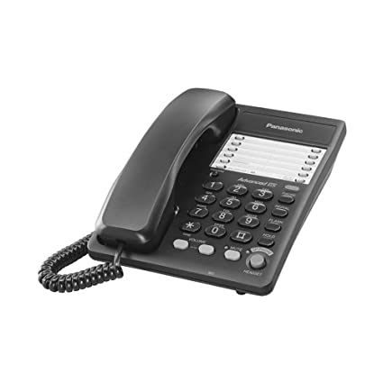 amazon com panasonic kx ts105b integrated business corded phone rh amazon com Panasonic.comsupportbycncompass Panasonic Cordless Phones