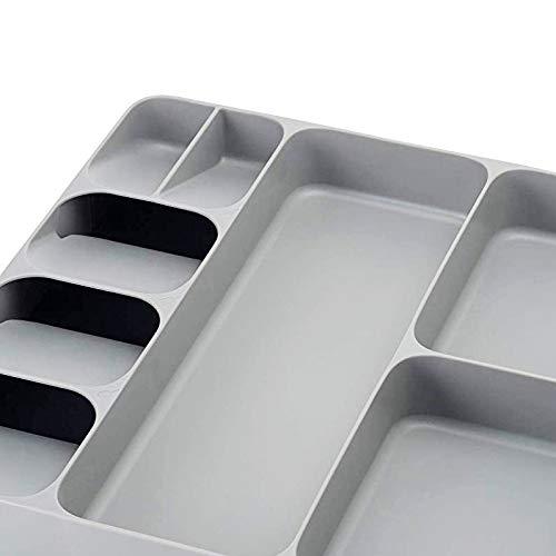 Cutlery Silverware Drawer Organizer Trays Utensil/Holder Flatware Kitchen Drawerstore for Multi Purpose/Storage Gadgets