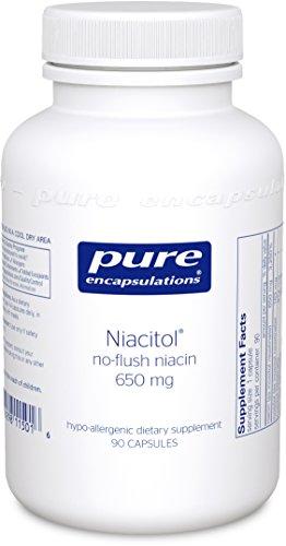 Pure Encapsulations Niacitol no flush Capsules