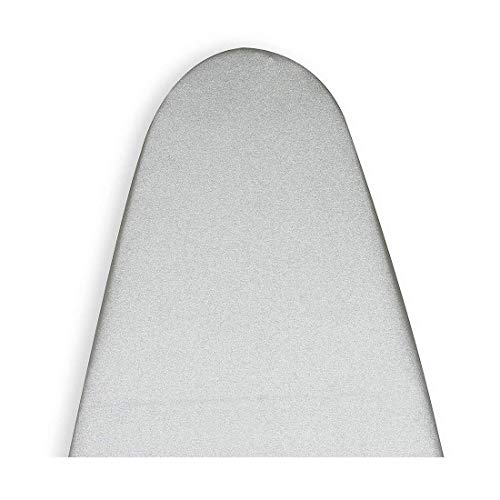 Encasa Homes Metallised Ironing Board Cover 'Silver Super Luxury' with Foam + Felt PAD (Fits Standard Wide Boards 18