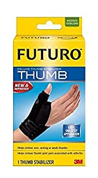 FUTURO Deluxe Thumb Stabilizer 45844EN, Large/X-Large