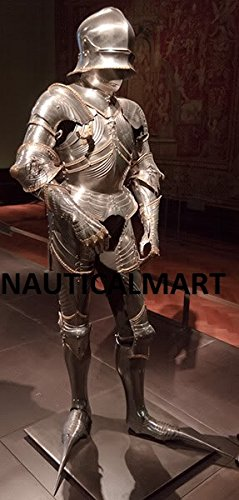 NauticalMart 1484 - 'Armor For Achduke' Halloween Wearable Medieval Gothic Suit Of Armor
